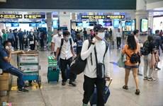 Environ 188.000 passagers accueillis par les aéroports vietnamiens en avril