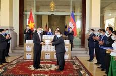 Le Cambodge remercie l'AN du Vietnam pour son aide dans la lutte anticoronavirus