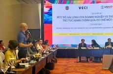 L'USAID soutient le Vietnam dans l'amélioration du niveau de satisfaction des entreprises
