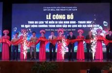 """Lancement du programme touristique """"Retour à la zone patrimoniale de Ninh Binh – Thanh Hoa"""""""