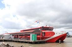 Le premier service de bateau express de Ca Mau officiellement inauguré