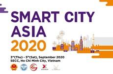 Smart City Asia 2020 prévu du 3 au 5 septembre à Hô Chi Minh-Ville