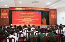 L'Australie aide la formation de la langue anglaise pour des militaires vietnamiens