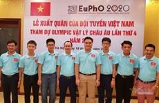 Quatre élèves vietnamiens primés à la 4e Olympiade européenne de physique
