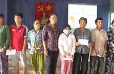 Aide pour les victime  de l'agent orange/dioxine  à Tien Giang