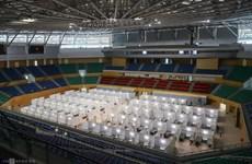 COVID-19 : L'hôpital de campagne au centre sportif de Tien Son sera exploité à partir du 14 août