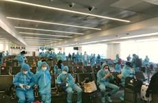 COVID-19 : environ 520 citoyens vietnamiens bloqués à l'étranger rapatriés