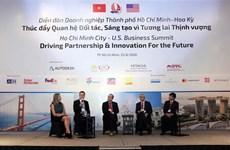 Sommet d'affaires HCM-Ville - États-Unis: moteur de partenariat et d'innovation pour l'avenir