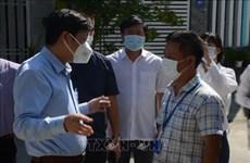 Des masques au design vietnamien dans des journaux étrangers