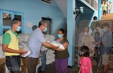 COVID-19 : Aide d'urgence accordée aux ménages d'origine vietnamienne au Cambodge
