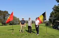 """Tournoi de golf amical """"Vietnam Ambassador's Cup 2020"""" en Belgique"""
