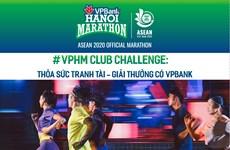 Près de 7.000 coureurs participeront au VPBank Hanoi Marathon ASEAN 2020