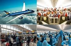 COVID-19 : plus de 350 citoyens vietnamiens rapatriés des États-Unis et du Japon