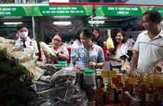Ourverture de la «Semaine des fruits et produits agricoles des provinces et villes à Hanoï 2020»