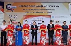 Ouverture de la Foire de l'industrie auxiliaire de Hanoï 2020