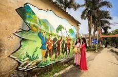Des peintures murales embellissent l'ancienne capitale de Hoa Lu
