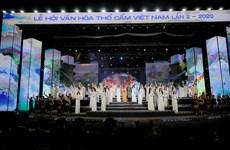 Clôture du 2e Festival de la culture du « thô câm » du Vietnam