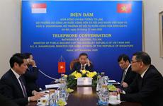 Vietnam et Singapour renforcent la coopération dans la lutte contre la criminalité transnationale