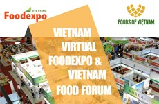 Ouverture de l'exposition virtuelle internationale sur l'industrie alimentaire Vietnam Foodexpo 2020