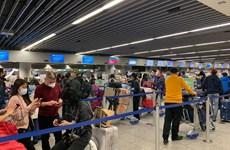 COVID-19 : 310 citoyens vietnamiens rapatriés d'Allemagne