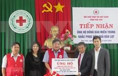 Les Vietnamiens aux États-Unis soutiennent les sinistrés d'intempéries à Phu Yen