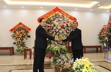 Le président du FPV adresse ses vœux de Noël aux catholiques du diocèse de Phat Diem
