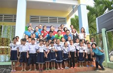 Saigon Children's Charity a inauguré une école primaire à Hâu Giang