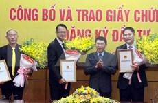 Bac Giang accorde des licences à quatre projets étrangers d'une valeur totale de 570 millions d'USD