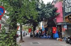 13e Congrès national du PCV: Hanoï se pare des couleurs du drapeau national