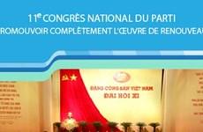 11e Congrès national du Parti: Promouvoir complètement l'œuvre de Renouveau