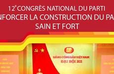 12e Congrès national du Parti: renforcer la construction du Parti sain et fort