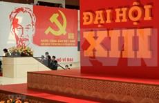 Communiqué de presse sur la quatrième journée de travail officielle du 13e Congrès national du PCV