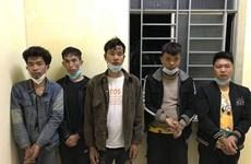 Long An : cinq étrangers capturés pour être entrés illégalement au Vietnam