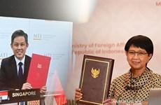 Le traité d'investissement bilatéral Indonésie-Singapour entre en vigueur