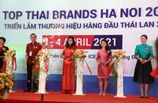 Ouverture du salon « Top Thai Brands » 2021 à Hanoï