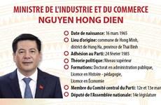 Ministre de l'Industrie et du Commerce Nguyen Hong Dien