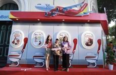 Vietjet s'associe à Hanoï pour stimuler le tourisme