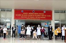 COVID-19: neuf patients restants en cours de traitement à Hai Duong (Nord)