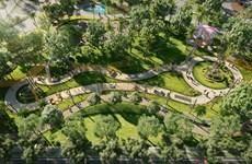 Inauguration du parc d'attraction Sky Park à Long Thành
