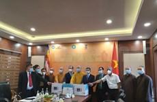 COVID-19 : aide de la Sangha bouddhiste du Vietnam pour l'Inde