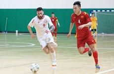 Futsal : match nul entre le Vietnam et le Liban lors des éliminatoires de la Coupe du monde 2021