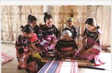 Préserver le tissage de brocatelle des Bahnar