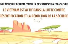 Le Vietnam est actif dans la lutte contre la désertification et la réduction de la sécheresse