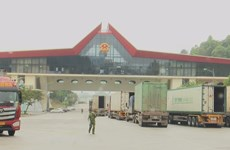 Lang Son s'emploie à dynamiser le commerce frontalier Vietnam - Chine
