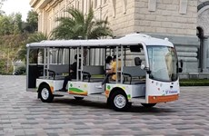 Vingroup: test de véhicules électriques autonomes à Nha Trang
