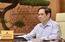 Le PM appelle à renforcer la coopération et la solidarité internationale contre le Covid-19