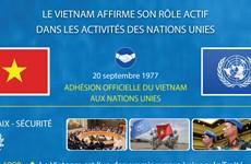Le Vietnam affirme son rôle proactif et actif dans les activités des Nations Unies
