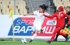 Éliminatoires de la Coupe d'Asie féminine 2022: large victoire du Vietnam contre les Maldives