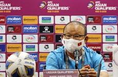 Mondial 2022: l'entraîneur Park Hang Seo souligne l'importance du match contre la Chine