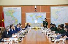 Un vice-ministre de la Défense reçoit les chefs des missions représentatives du Vietnam à l'étranger